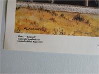 Locomotive Themed Ron Flanary Prints
