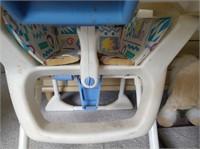Playskool High Chair & Rocking Horse