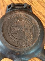 Griswold 570A Cast Iron Ashtray