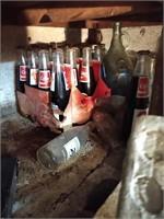 Coca Cola Bottles & Workshop items