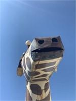 10' Metal Giraffe