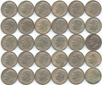 Silver coins & gold 1 Online only auction