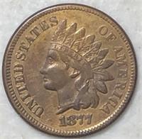 1877 Indian Head Cents Super Choice++