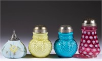 Selection of sugar shakers.