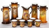 Collection of Warwick china