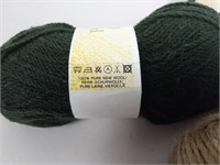 x9 Patons Yarn - Pure Wool Crepe DK & SWS