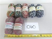 x7 Patons Kroy Socks Yarn