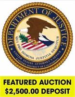 U.S. Attorney's Office (ECA) online auction ending 7/12/2021