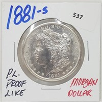$1 Start Rare Coins, Gems & Fine Jewelry Tues. 7/6 6 pm CST