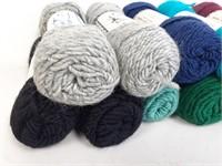 x17 Brown Sheep Co. Worsted Yarn