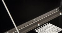 18x18x48 Inch Black Steel Underbody Truck Box
