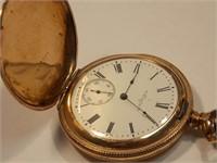 Elgin 14k Pocket Watch (9012731, 303925) running