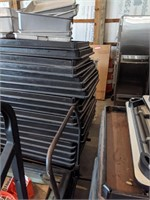 Stack of Folding Tables