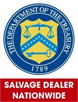 U.S. Treasury (Salvage Dealer Only) ending 7/19/2021