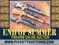 END OF SUMMER FIREARM AUCTION