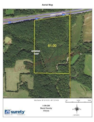 60 Acres+/- with CRP Income