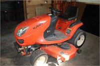 Utility Shed and Kubota Lawn Tractor