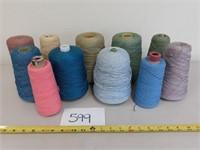 x11 Cones of Yarn