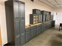 19 PC NEW CASTLE GRAY CORNER KITCHEN