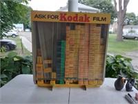 """Kodak film counter display - 24"""" wide 26"""" tall,"""