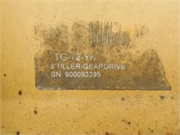 """King Kutter Model TG-72YK, 72"""" tiller,"""