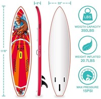 Inflatable Stand Up Paddle Board 11'6''x33''x6''