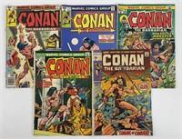 (5) Marvel Comics: Conan the Barbarian