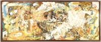Modern Impasto Framed Painting