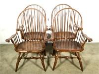 (4) Chelsea Workshop J.P. Johnson Windsor Chairs