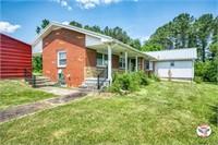 Brick Home & 8.86 Acres