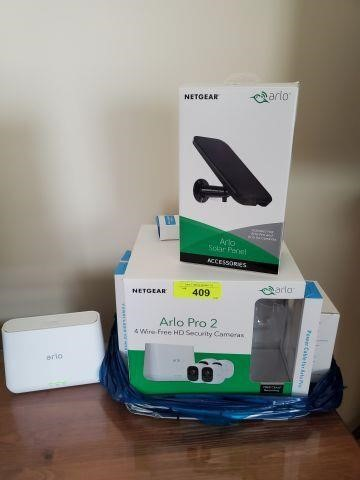 ARLO 4 WIRE FREE HD SECURITY SYSTEM