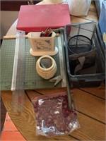 Office supplies & books incl. Panasonic
