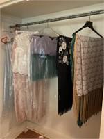 shawls & Bridesmaid dress
