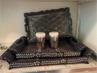 serving trays & s&p shakers