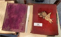 Two Antique Picture Albums