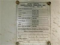 2006 Eagle Rock trailer, 37ft, end dump,