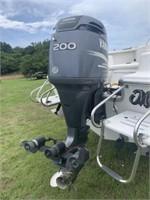 2004 Sea Pro boat with 2004 Yamaha Z200TX 200hp