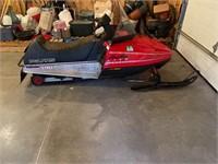237 miles 1992 Polaris Indy 340 Lite Snowmobile