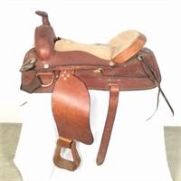 Saddle King Hand Made Western Saddle