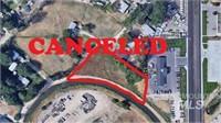 """""  CANCELED """"  Commercial Land - Live Auction"