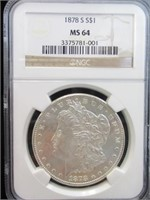 GRADED COINS ONLY ONLINE AUCTION