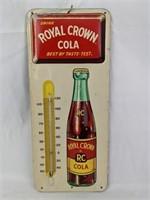 Vintage Royal Crown Cola Advertising Thermometer