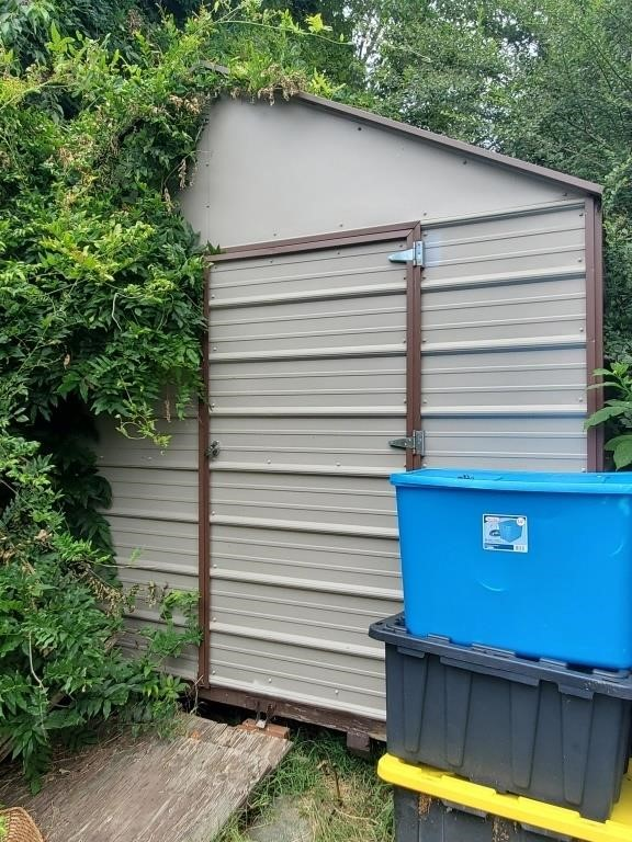 STORAGE SHED TO BE MOVED