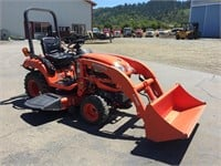 KUBOTA  BX 2360 TRACTOR WITH FRONT LOADER
