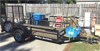 Motorcycle Trailer 10ft X 5ft