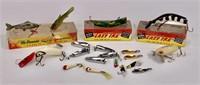Fishing lures - Lazy Ike, McDonald Lif-Lik