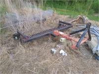 7' rake - needs tires
