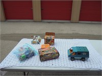 Franklin Home Furnishings toy, barbie,and dicast auction
