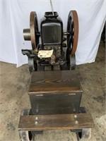 CHAPMAN, 2hp, on factory cart, serial #13712