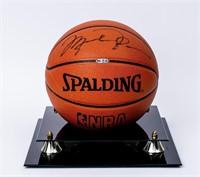Michael Jordan Signed Spalding Official Basketball